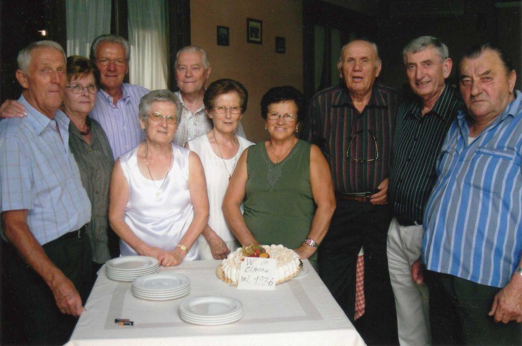 Foto Mario Soligo - 28 agosto 2010: festa della classe 1936