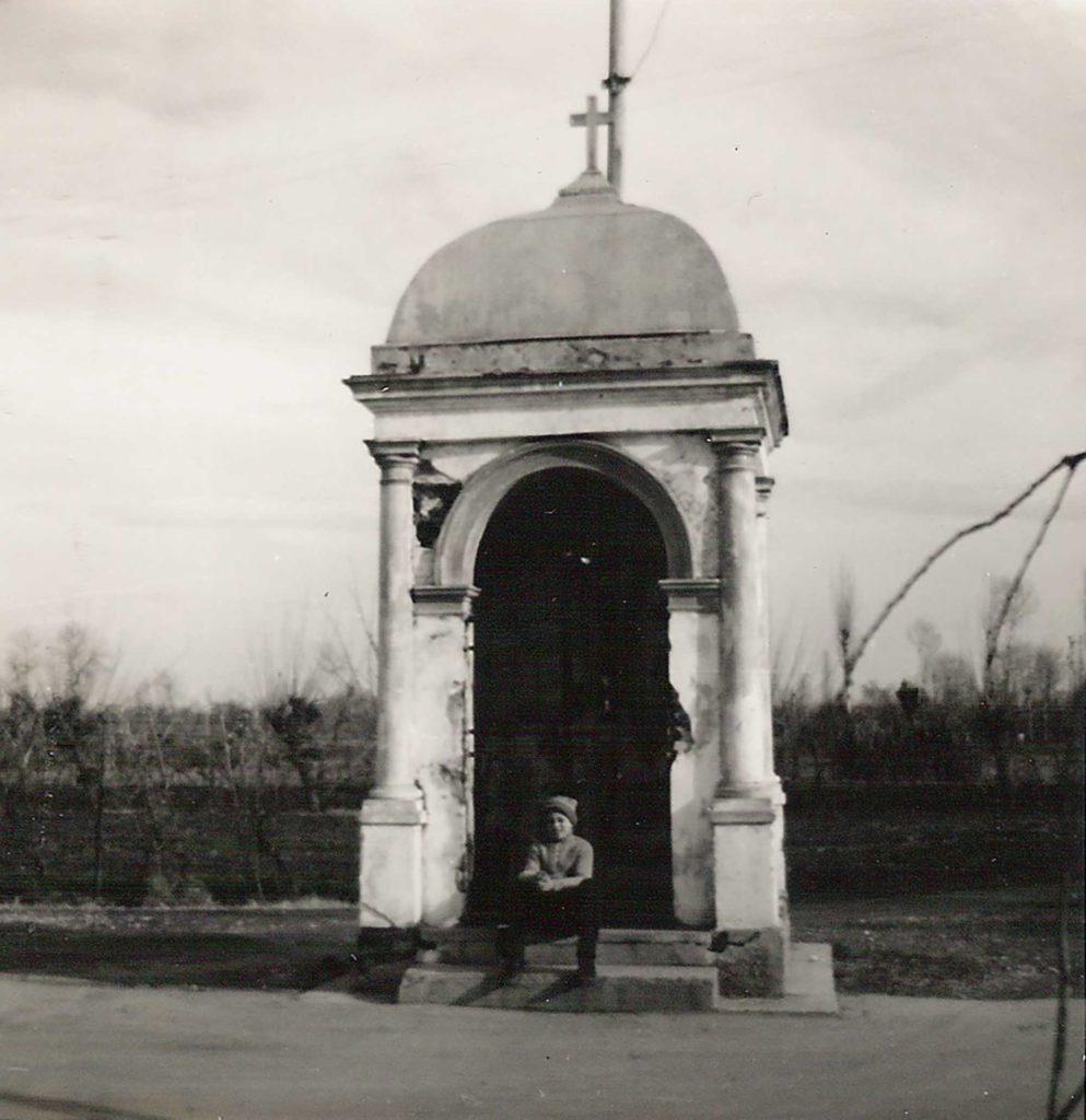 Foto Maurizio Soligo - Il capitello di San Giuseppe negli anni '60