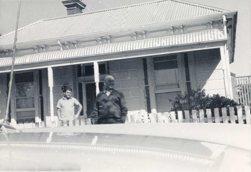 Foto Mazzoccato-Trinca - Costante, lo zio di Paolo che lo ospitò a North Fitzroy, Melbourne (Australia)