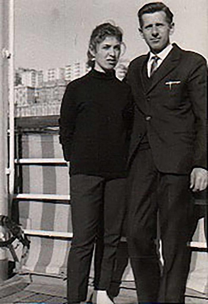 Foto Mazzoccato-Trinca - 1962: Alda e Michele Mazzoccato