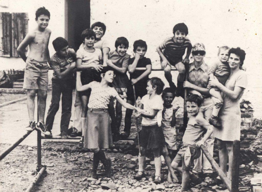 Foto famiglia Meneghetti - I cugini Meneghetti a metà degli anni '70