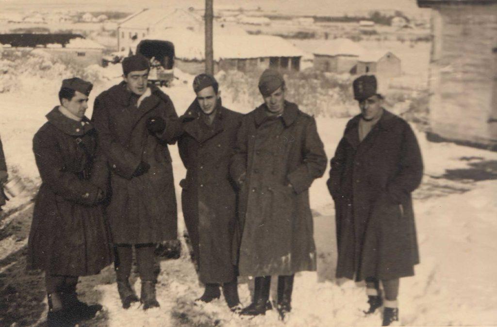 Foto Famiglia Pagnan-Tempesta - Militari nella neve