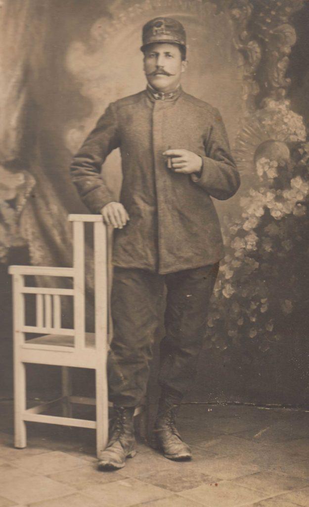 Foto Famiglia Pagnan-Tempesta - Il militare Bortolo