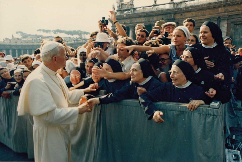 Foto Famiglia Pagnan-Tempesta - A Roma con Papa Wojtyła