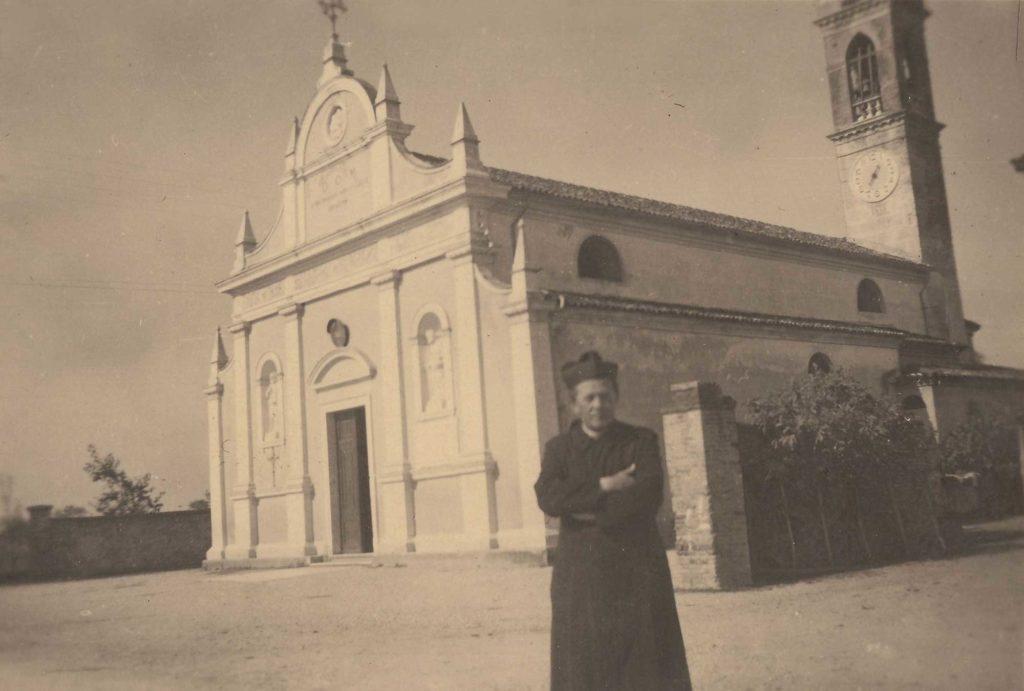 Foto Famiglia Pagnan-Tempesta - La chiesa e Don Massimino