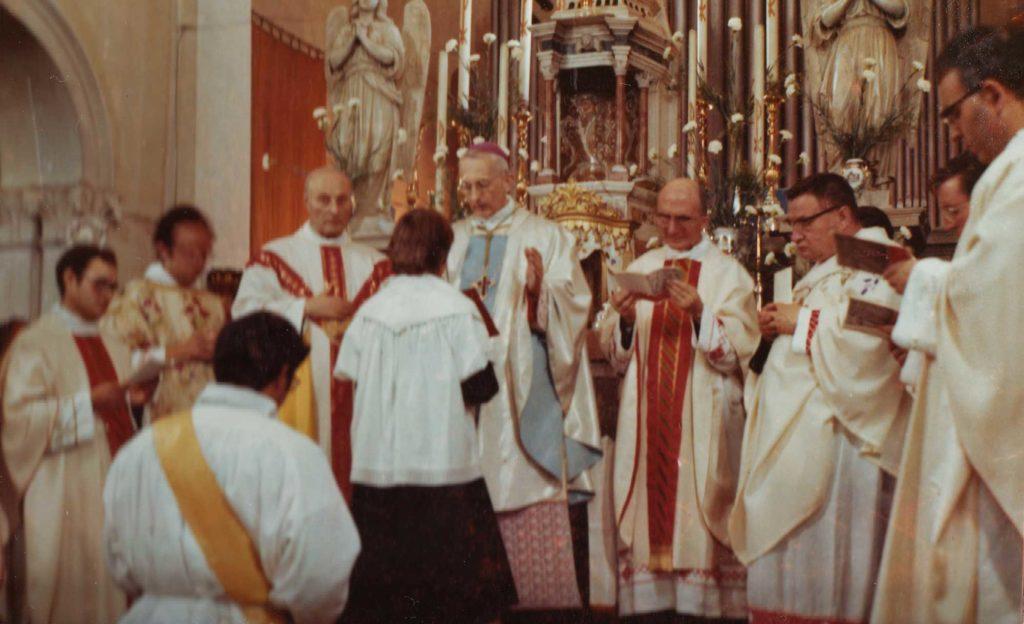 Foto Famiglia Pagnan-Tempesta - Concelebrazione con il Vescovo
