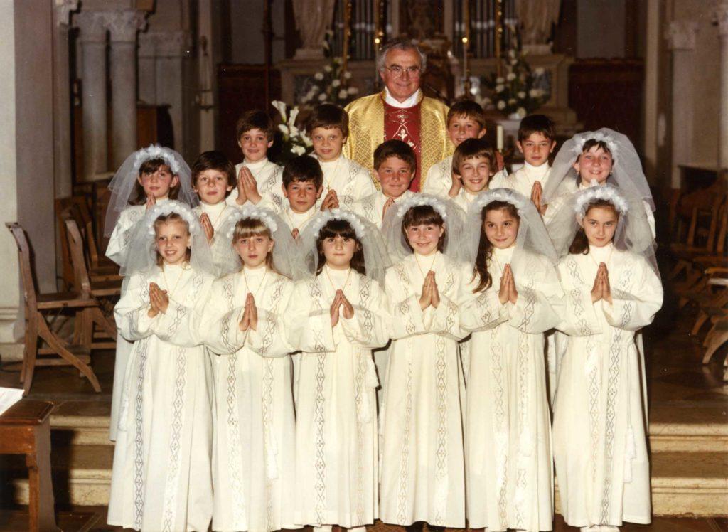 Foto Gianni Perin - La prima comunione della classe 1976