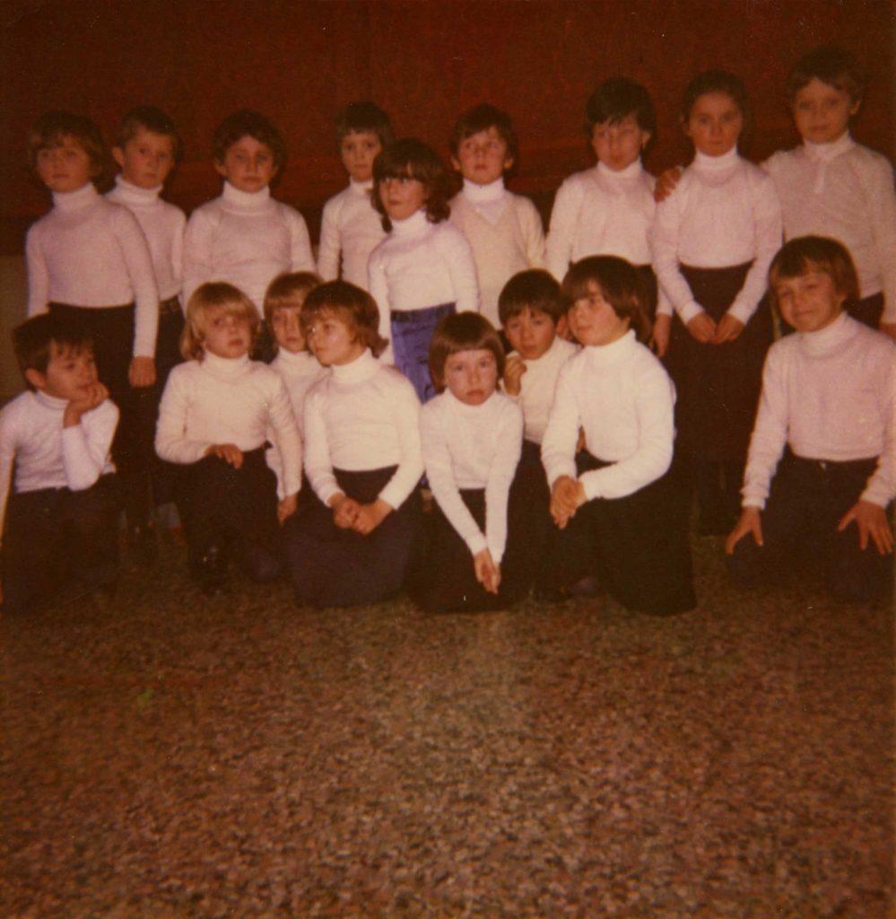 Foto Gianni Perin - La classe 1976 all'asilo