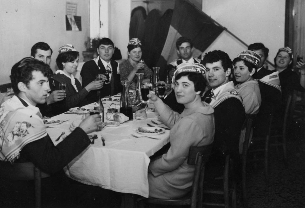 Foto Gianni Perin - Classe 1947: festa dei coscritti.