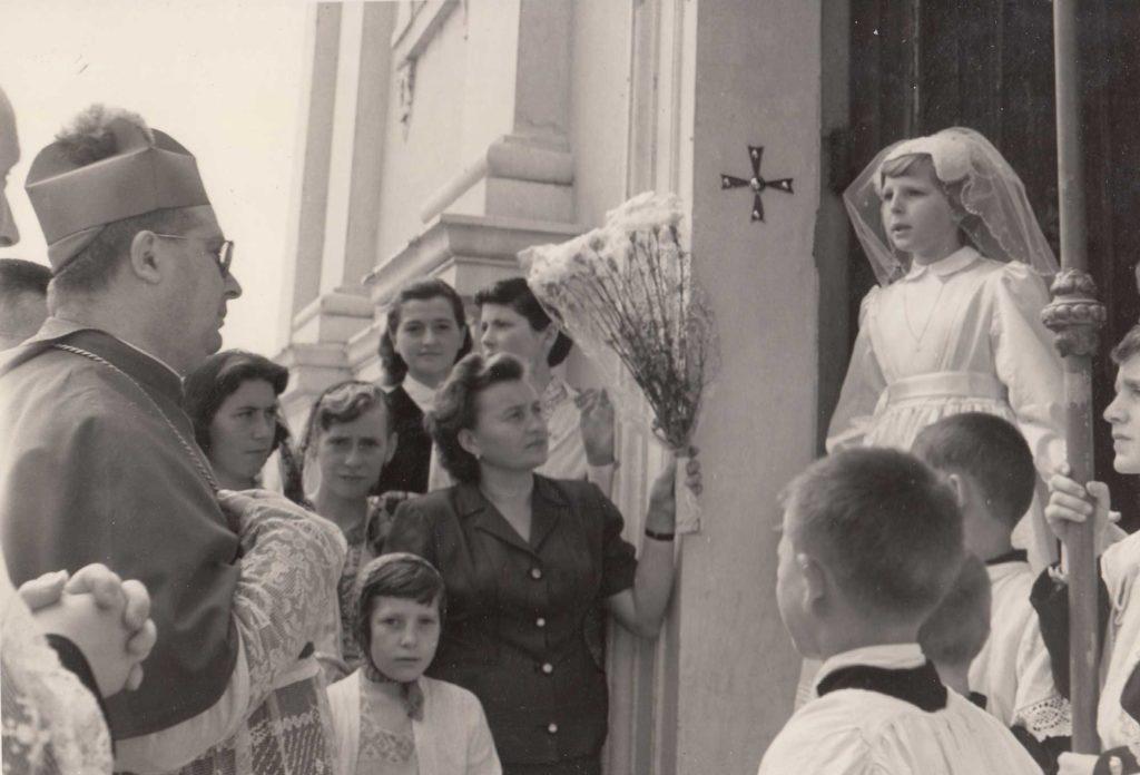 Foto Sorelle Occhial - 20 giugno 1957: la Santa Cresima di Annamaria