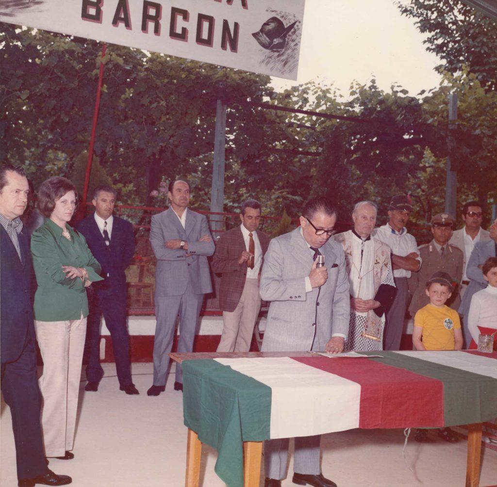 Foto Sorelle Occhial - Inaugurazione Bocciofila Alpina Barcon
