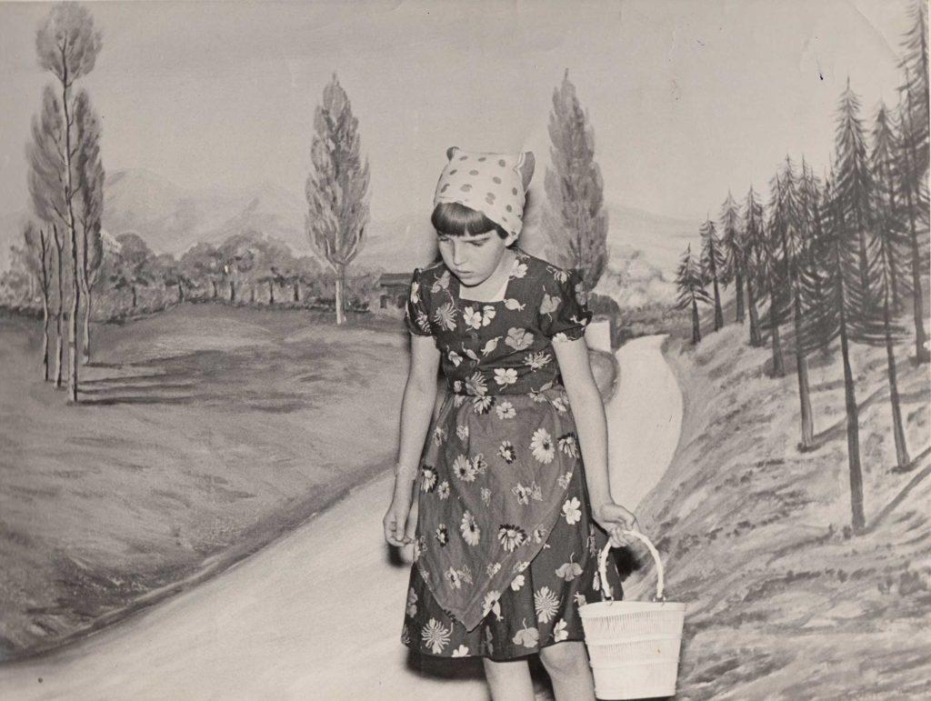 Foto Sorelle Occhial - 1958/1959: Annamaria in
