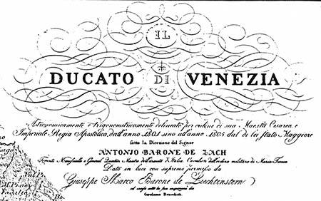 Ducato di Venezia: 1801-1805
