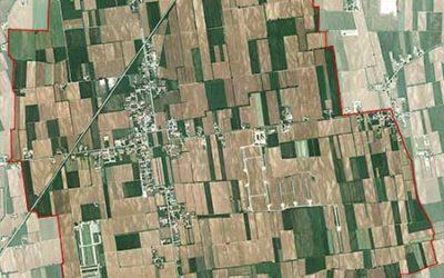 Foto satellitare del territorio