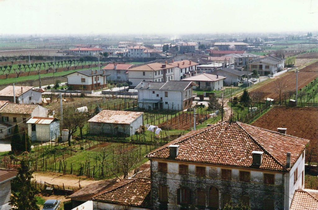 Foto Maurizio Soligo - Anni '80. Panorama dal campanile