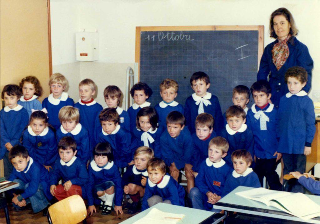 Foto Aurelio Martini - La classe 1970 in prima elementare