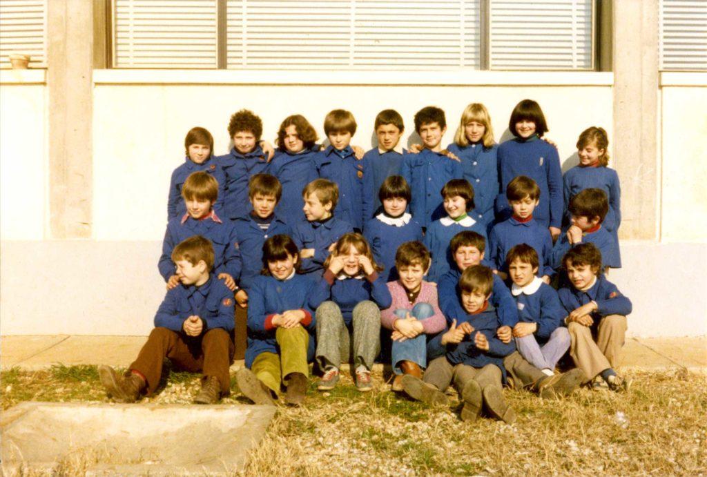 Foto Aurelio Martini - La classe 1970 in quinta elementare