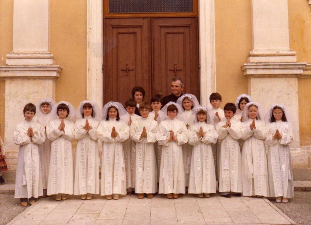 Foto Maurizio Trinca - Prima comunione della classe 1971