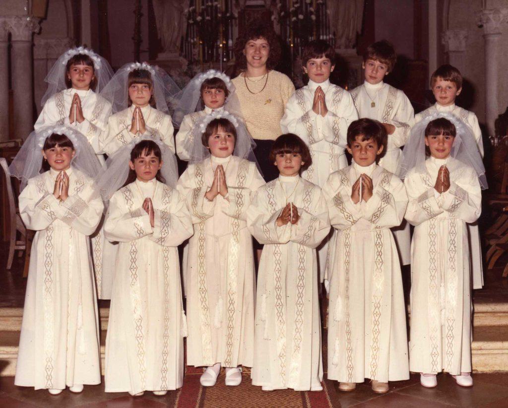Foto Maurizio Trinca - Prima comunione della classe 1975