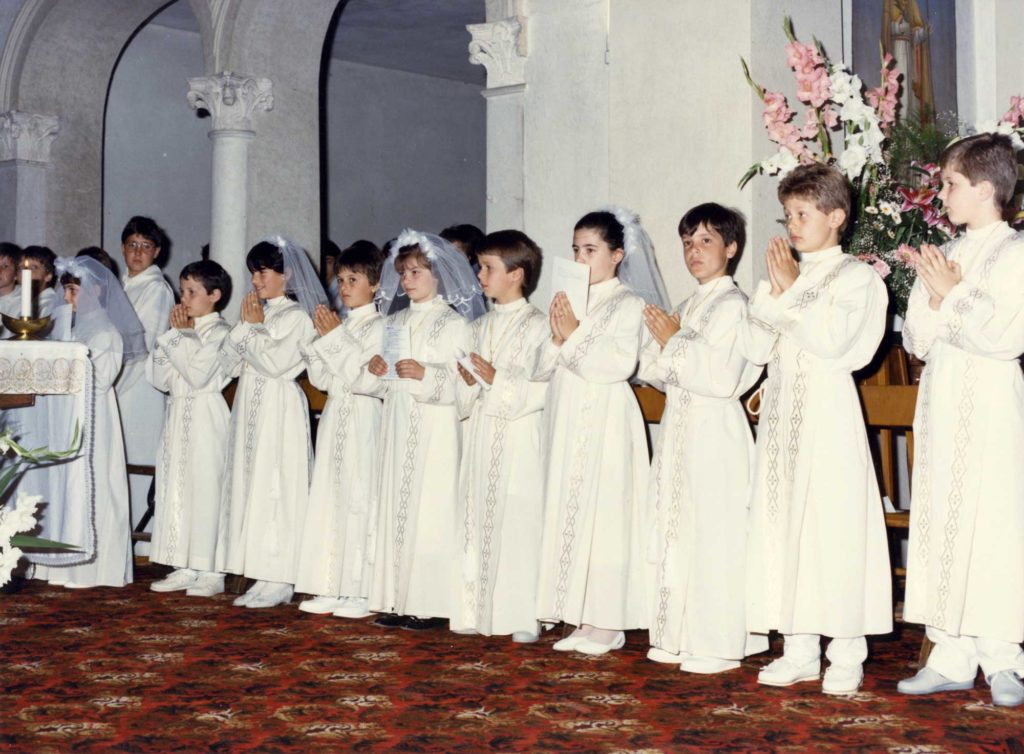 Foto Tamara Soligo - Prima comunione della classe 1977