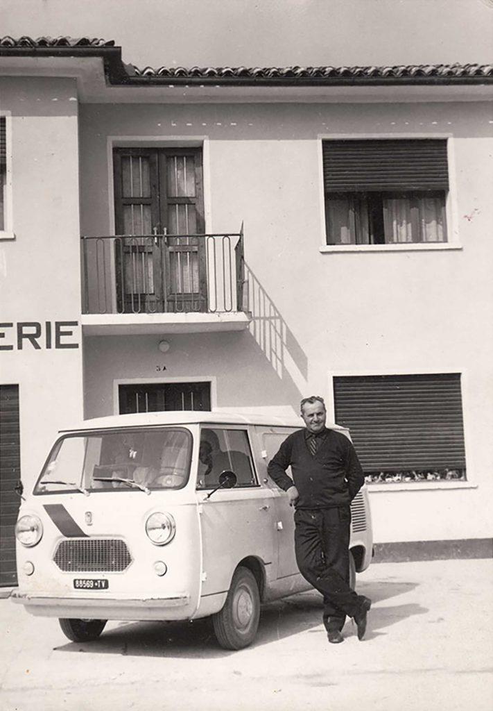 Foto Sergio Pasqualotto - aprile 1965