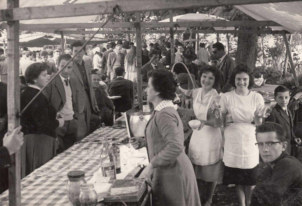 Pasqualotto - Stand alla festa della Madonna del Caravaggio