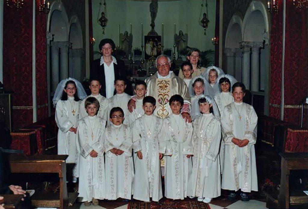Prima comunione della classe 1991