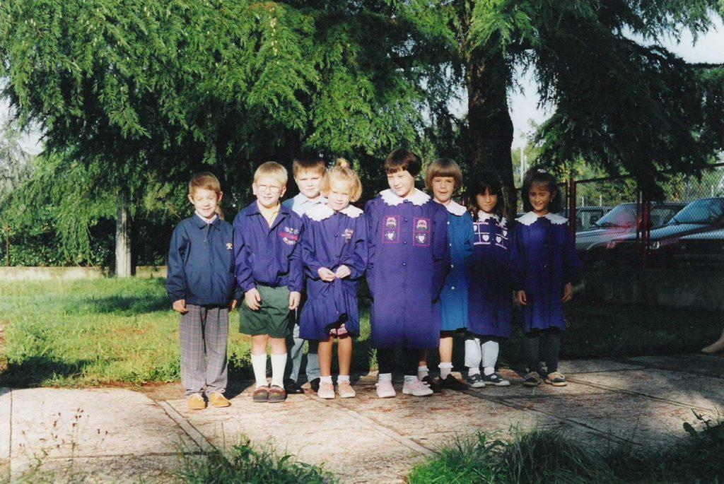 Foto Maurizio Soligo - La classe 1988 in prima elementare