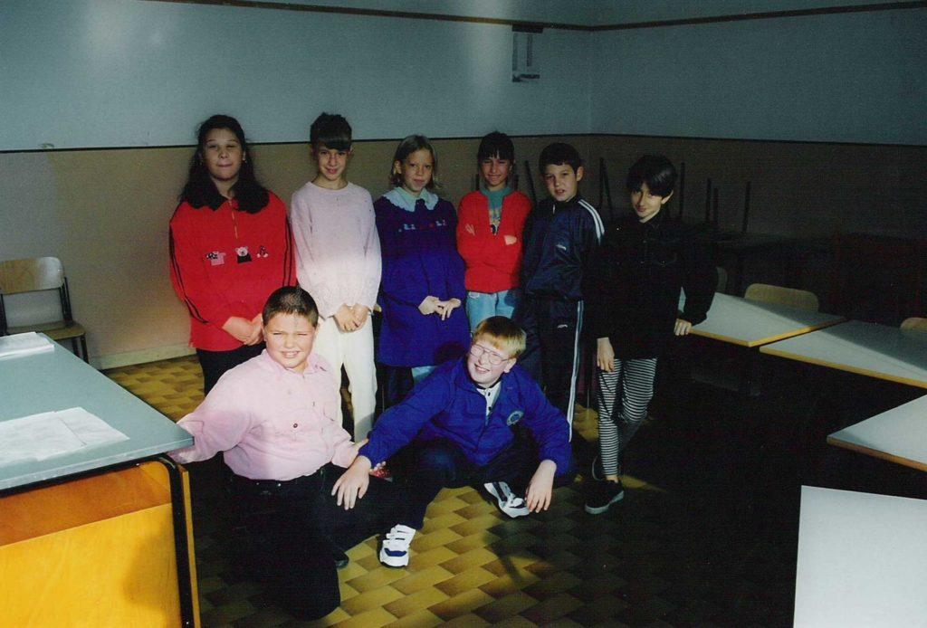 Foto Maurizio Soligo - La classe 1988 in quinta elementare