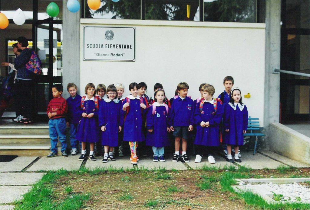 Foto Maurizio Soligo - La classe 1992 in prima elementare