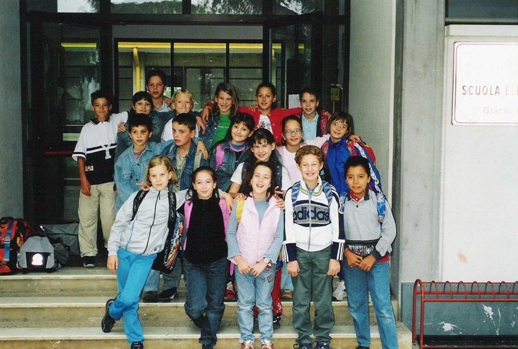 Foto Maurizio Soligo - La classe 1992 in quinta elementare