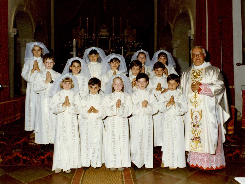 Foto Tamara Soligo - Prima comunione della classe 1983
