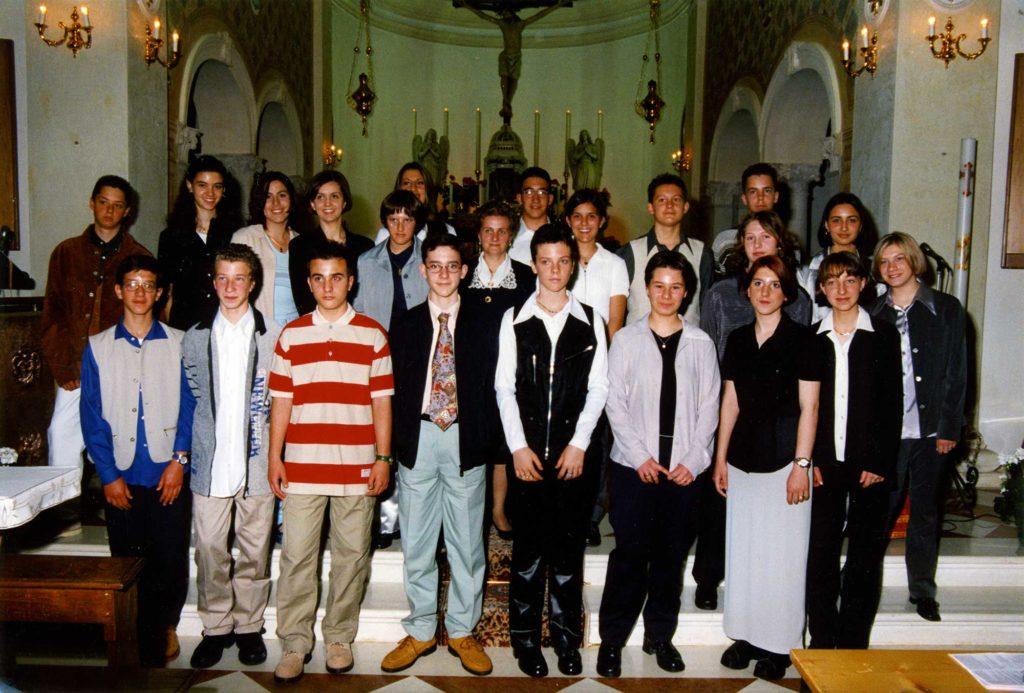 Foto Tamara Soligo - La Cresima delle classi 1983 e 1984